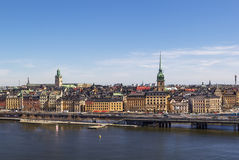 View of Gamla Stan, Stockholm Stock Images