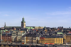 View of Gamla Stan, Stockholm Royalty Free Stock Image