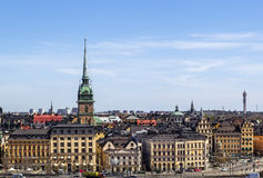 View of Gamla Stan, Stockholm Royalty Free Stock Photo