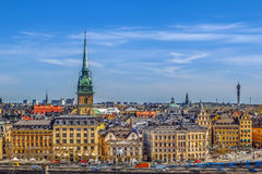 View of Gamla Stan, Stockholm Royalty Free Stock Images