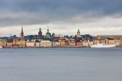 View on Gamla Stan, Stockholm, Sweden Stock Photo