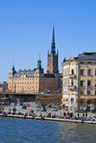 View on Gamla Stan in Stockholm, Sweden Royalty Free Stock Image
