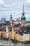 View of Gamla Stan. Stockholm, Sweden Stock Photography