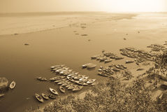 View of the ganges Stock Image