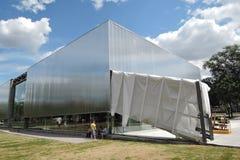 View of Garace Contemporary Culture Center Stock Photo