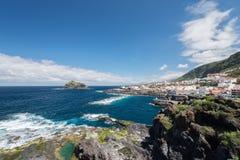 View on Garachico Tenerife Island Royalty Free Stock Photo
