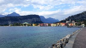 View. Garda lake, Italy Stock Image