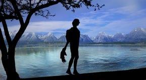 View at Garda Lake, Italy Royalty Free Stock Photo