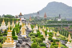 View of Garden at Nong Nooch Garden, Pattaya Stock Image