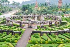 View of Garden at Nong Nooch Garden, Pattaya Royalty Free Stock Photos