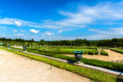 View of the Garden at the Palace of Versailles Royalty Free Stock Photo