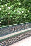 Gardens of the Royal Alcazares (Unesco),Seville Stock Photos