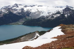 View of Garibaldi lake Royalty Free Stock Photography