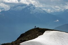 View of Garibaldi Mountain Stock Image