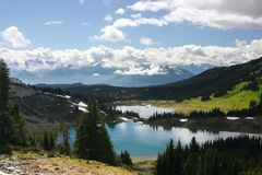 View of Garibaldi park Royalty Free Stock Photography