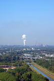View from gasometer in Oberhausen Stock Photography
