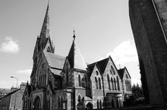 View of Gate Church - Dundee Architecture Stock Photo