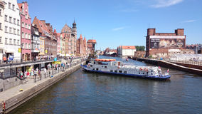 View on Gdansk. Royalty Free Stock Photos