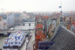 View Gdansk, poland Stock Photo