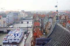 View Gdansk, poland Stock Photo