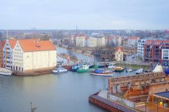 View Gdansk, poland Royalty Free Stock Images