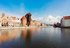 View of Gdansk, Poland Stock Image