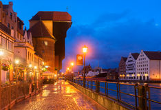 View of Gdansk, Poland Stock Photo