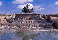 Gefion Fountain in Copenhagen royalty free stock image