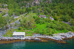 View of Geiranger Royalty Free Stock Photography