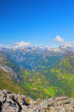 View of Geiranger Stock Image