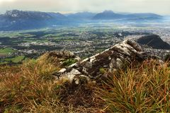 View from geisberg mountain Stock Photos