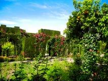 Generalife Garden, Andalusia, Spain. Granada royalty free stock image