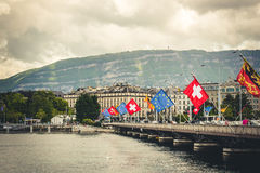 View of Geneva Royalty Free Stock Image