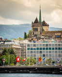 View of Geneva Royalty Free Stock Photos