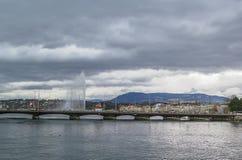 View of Geneva, Switzerland Stock Photo
