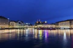 View on Geneva in Switzerland Stock Photos