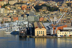 View of Genoa Royalty Free Stock Photos