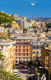 View of Genoa city - Italy Stock Photo