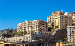 View of Genoa city - Italy Royalty Free Stock Images