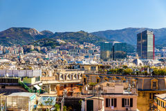 View of Genoa city - Italy Stock Photos