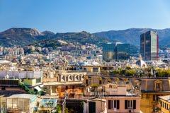View of Genoa city - Italy Stock Photos