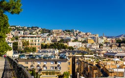 View of Genoa city - Italy Stock Images
