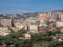 View of Genoa Italy Royalty Free Stock Photo