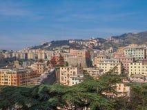 View of Genoa Italy Royalty Free Stock Image