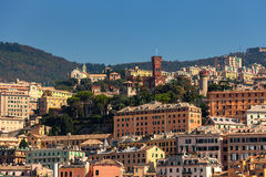 View of Genoa, Italy. Royalty Free Stock Photography