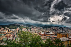 View of Genoa Italy Stock Photos