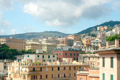 View of Genoa from Villetta Di Negro Stock Photos