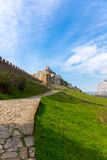 View of Genoese fortress Stock Photography