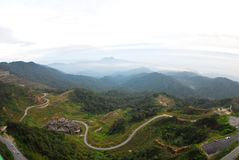 The view of Genting, Malasia Stock Images