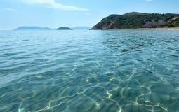 View from Gerakas beach (Zakynthos, Greece) Stock Photos